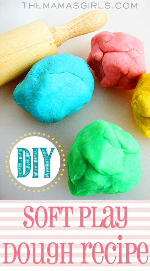 DIY Soft Play Dough Recipe