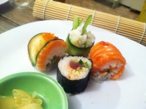 Homemade Sushi Roll Your Own