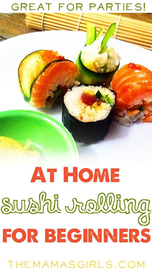 Roll your own sushi at home - so easy