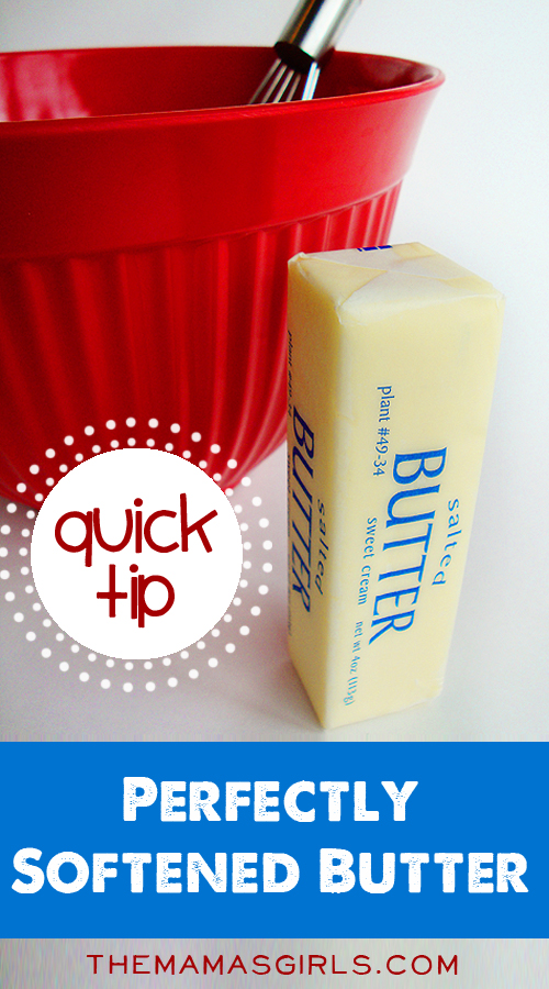 The Quick Way to Get Perfectly Softened Butter