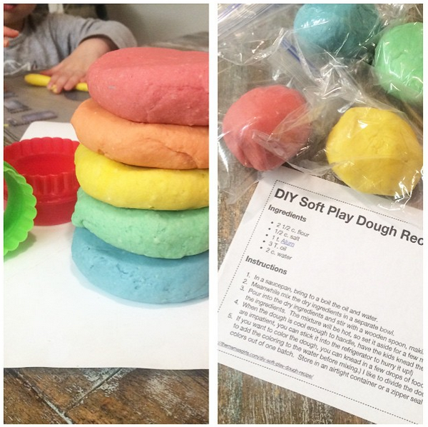easiest play dough recipe