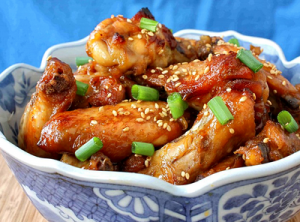 Tasty Kitchen - Honey Ginger Wings