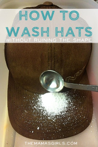 How to wash hats without ruining the shape