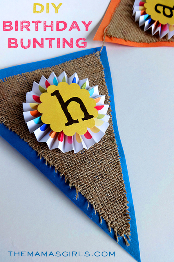 DIY Birthday Bunting