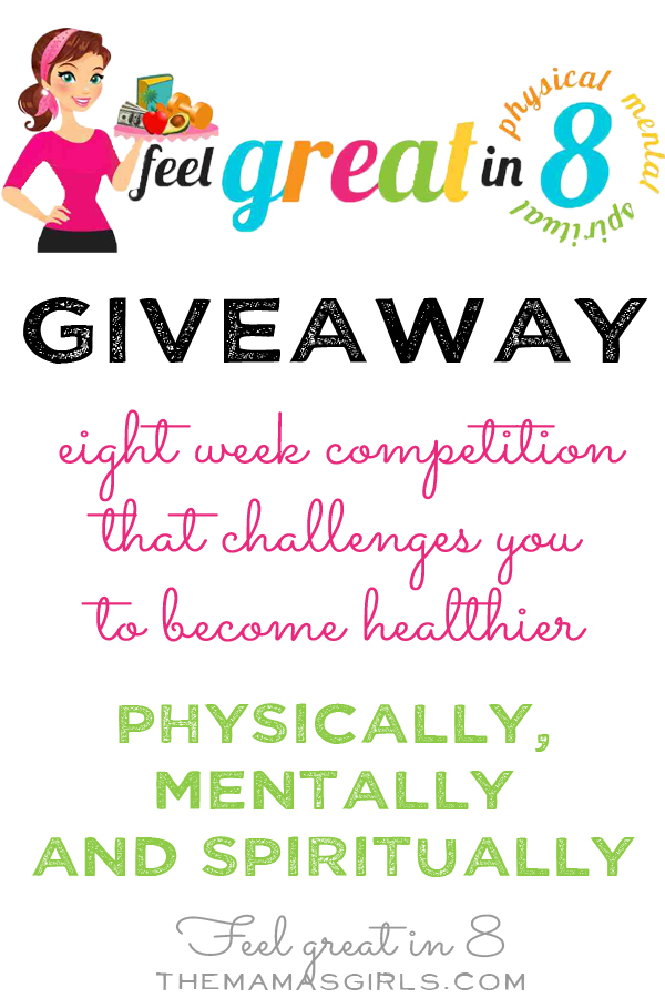 Feel Great in 8 Giveaway