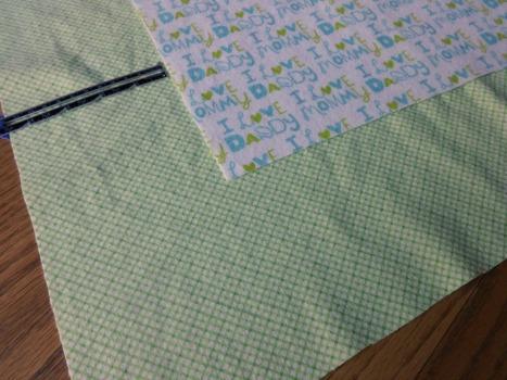 Receiving Blanket step 1 - themamasgirls