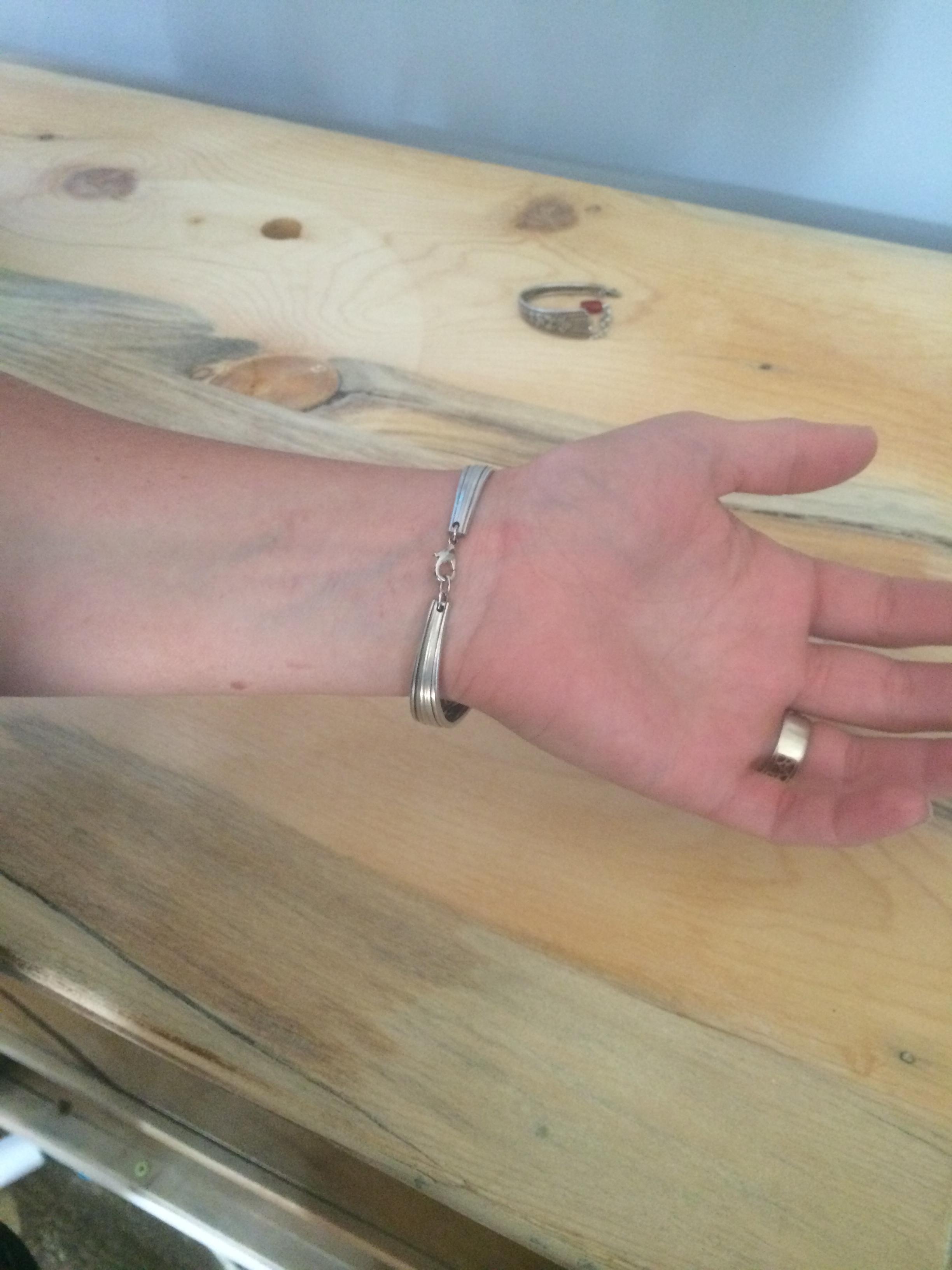 silverware jewelry clasp