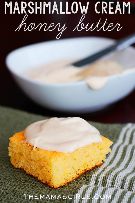Marshmallow Cream Honey Butter!