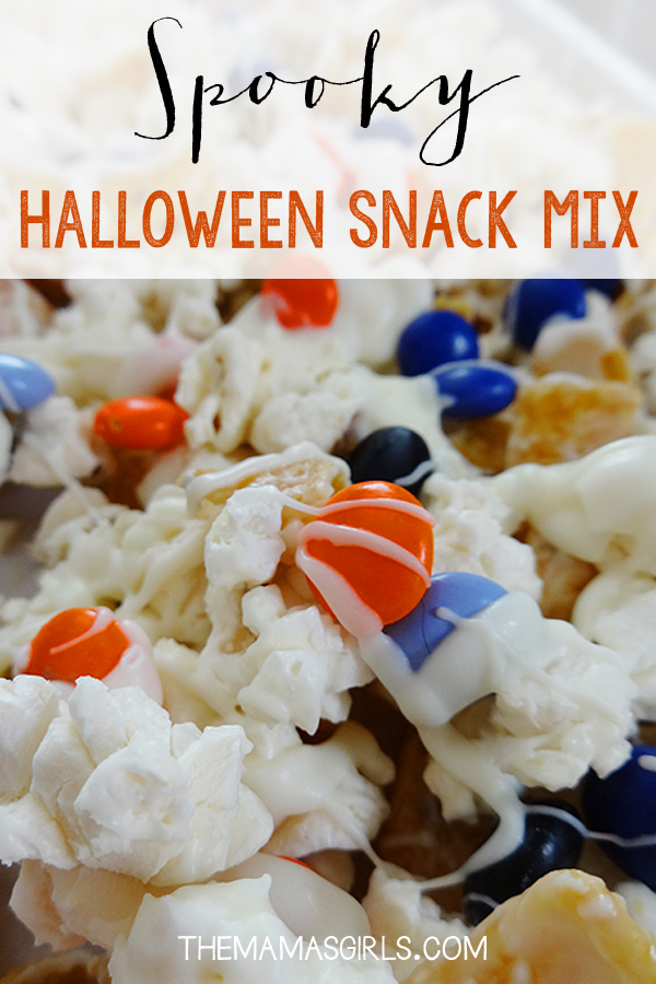 Spooky Halloween Snack Mix - Perfect combo of salty and sweet