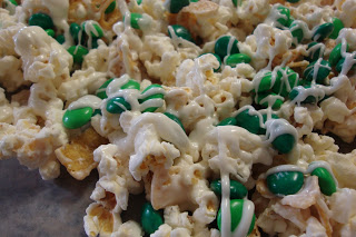 St. Patricks Day Snack Mix