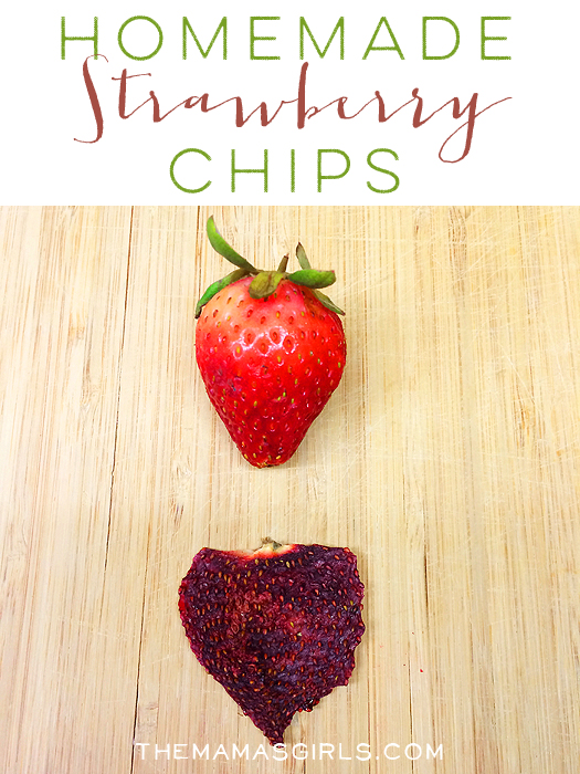 Homemade Strawberry Chips