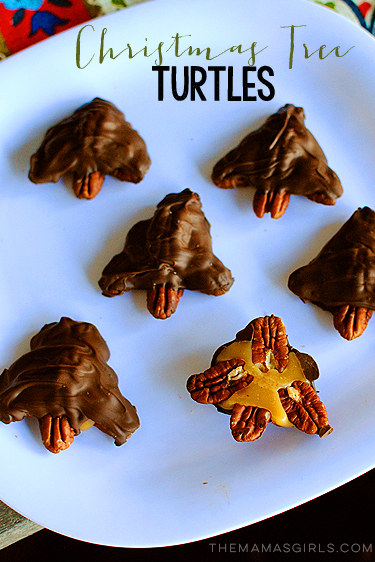 Christmas Tree Turtle Candy