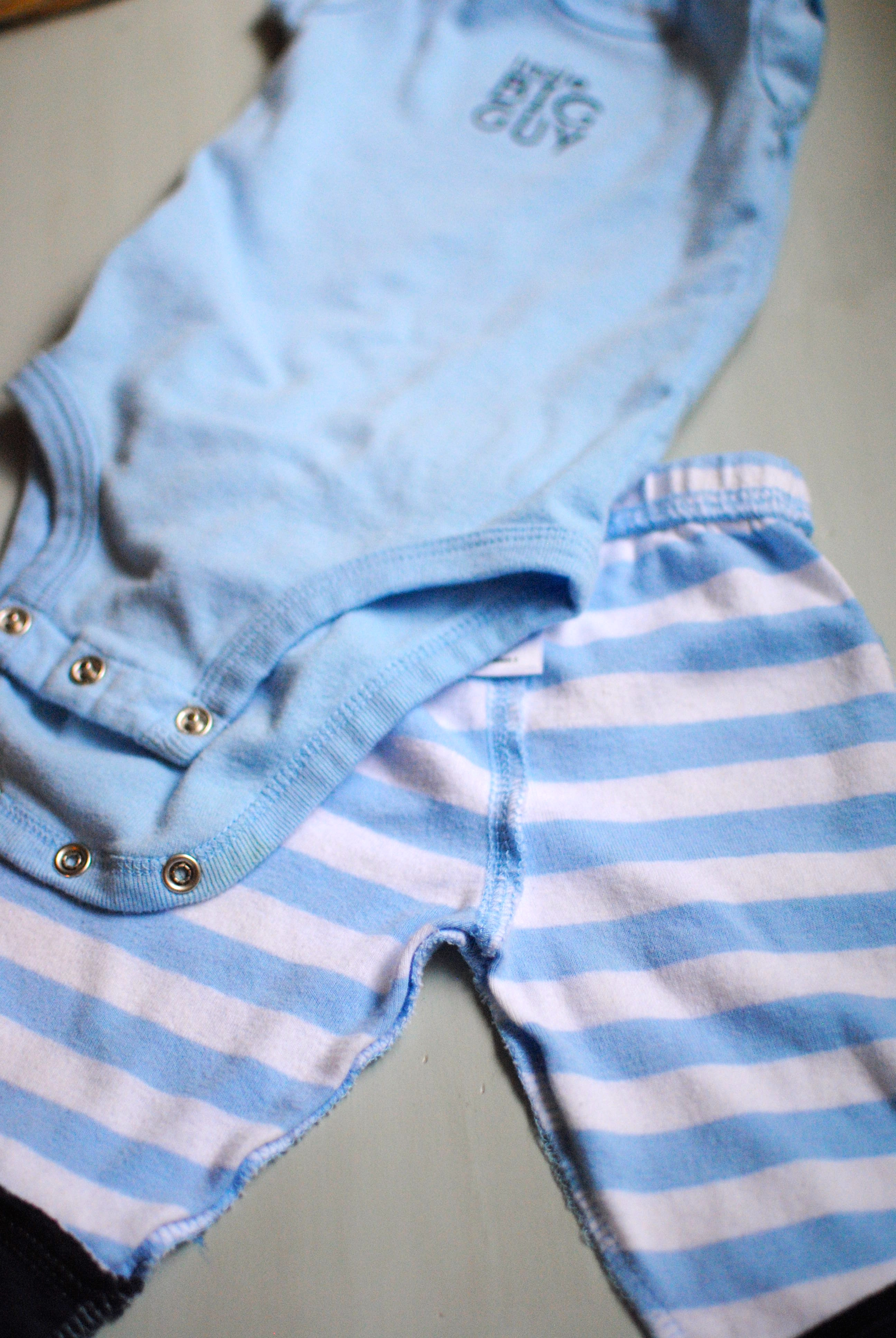 Infant stains gone