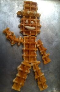 Wacky Waffle Man and other fun ideas