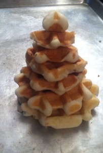 Waffle Christmas Tree and other fun ideas