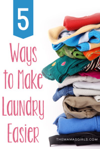 5 awesome tips to make laundry easier!