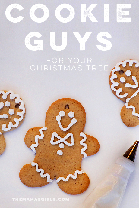 Cookie Guys for the Christmas Tree