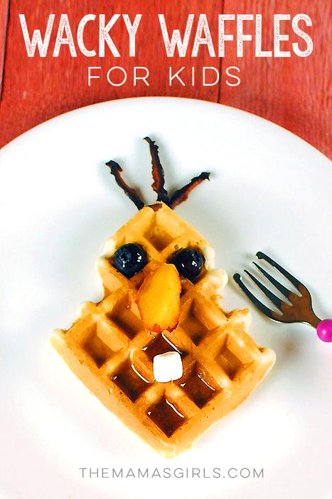 Wacky Waffles for Kids - Olaf Waffle