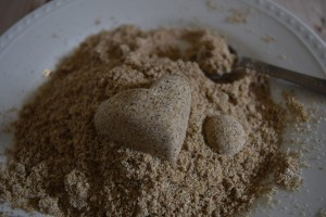 how to make edible sand that looks real!