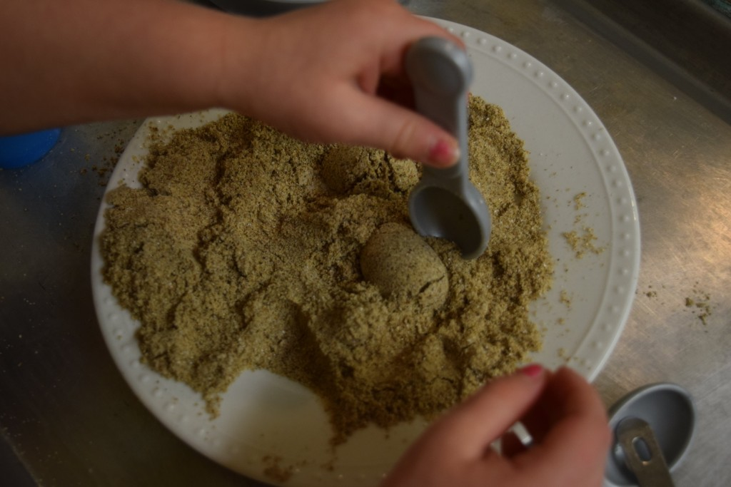 How to make realistic homemade sand that is edible!