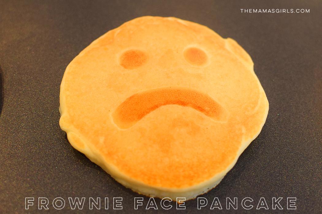 Frownie Face Pancake