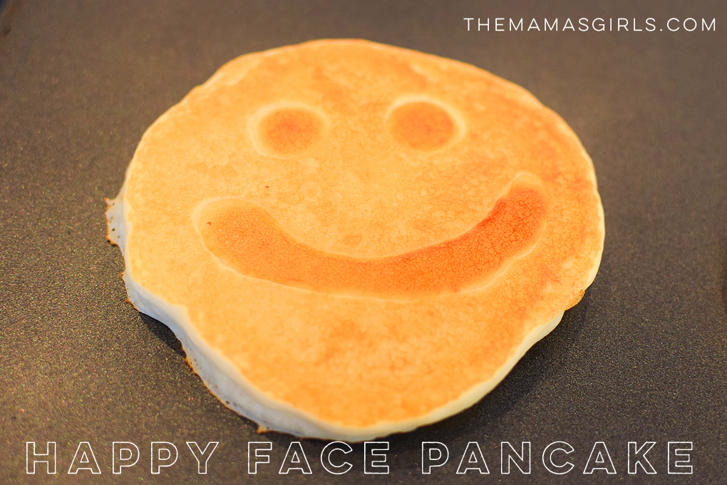 Happy Face Pancake