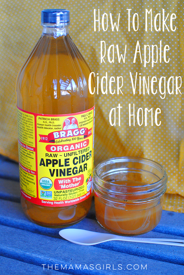 How To Make Raw Apple Cider Vinegar at Home