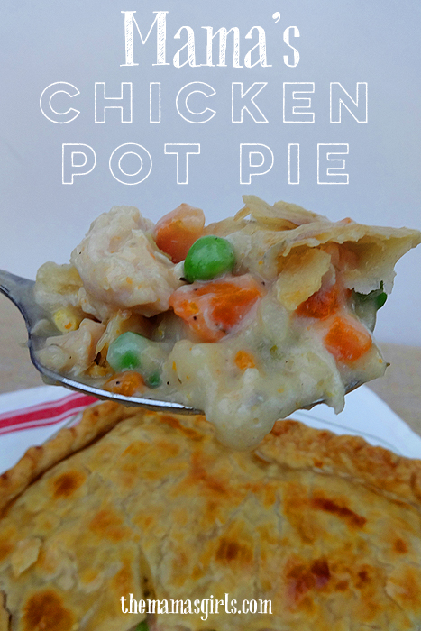 Mama's Chicken Pot Pie - easy