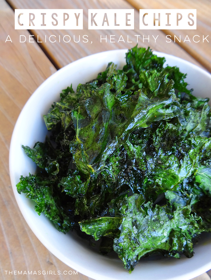 Crispy Kale Chips A Delicious - Healthy Snack