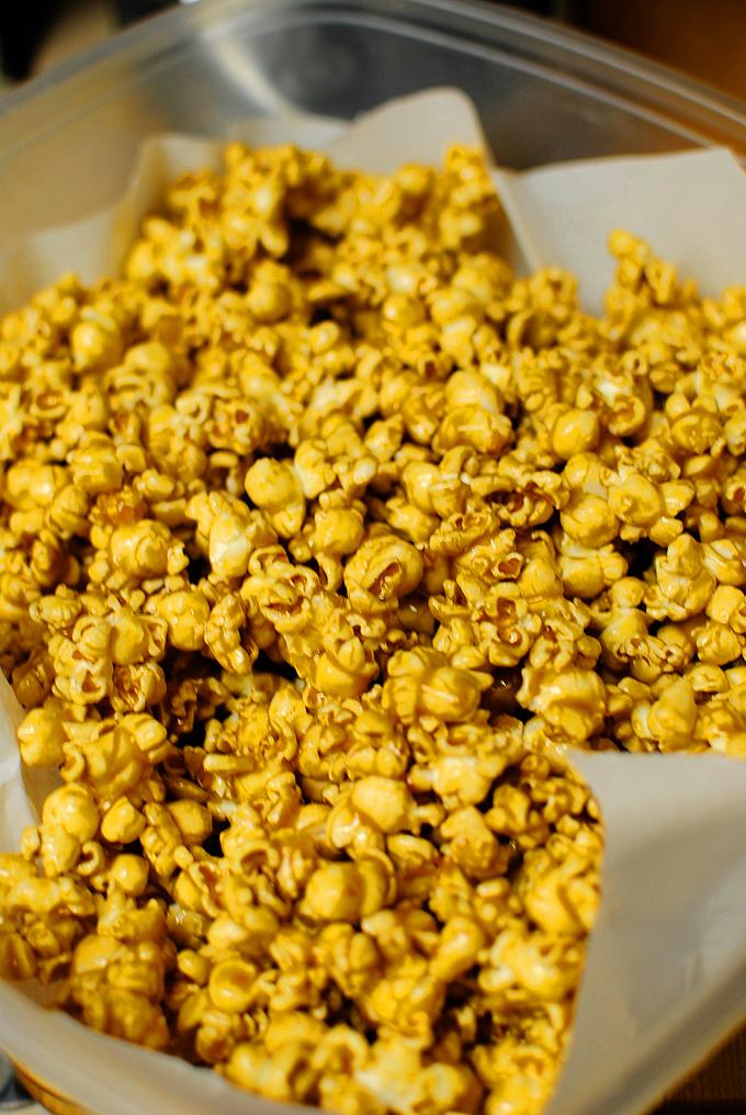 Perfect Microwave Caramel Corn 6