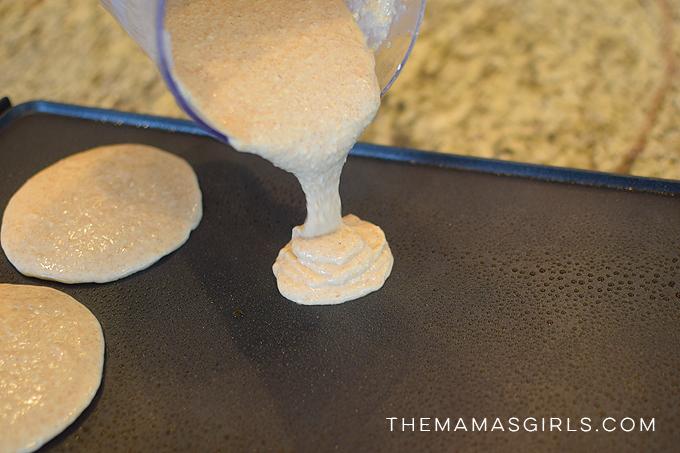 Protein Wheat Pancakes