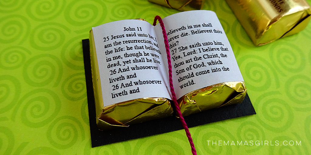 Candy Scriptures for Easter Twitter
