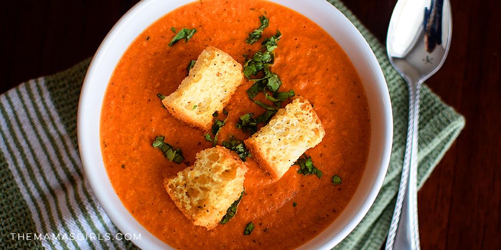 Creamy Tomato Basil Soup - Amazing