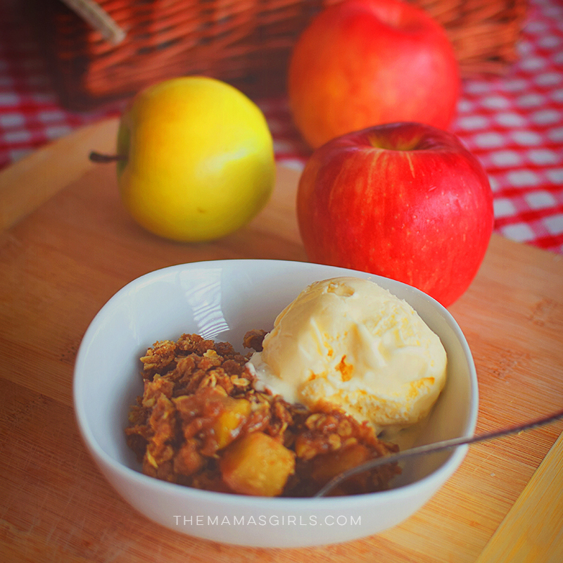 Mama's Best Apple Crumble - SO GOOD