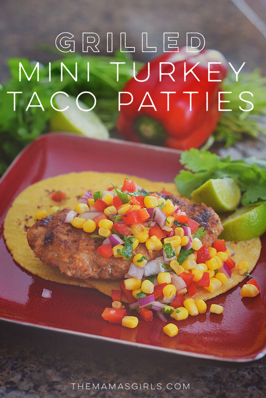 All Whites Grilled Mini Turkey Taco Patties