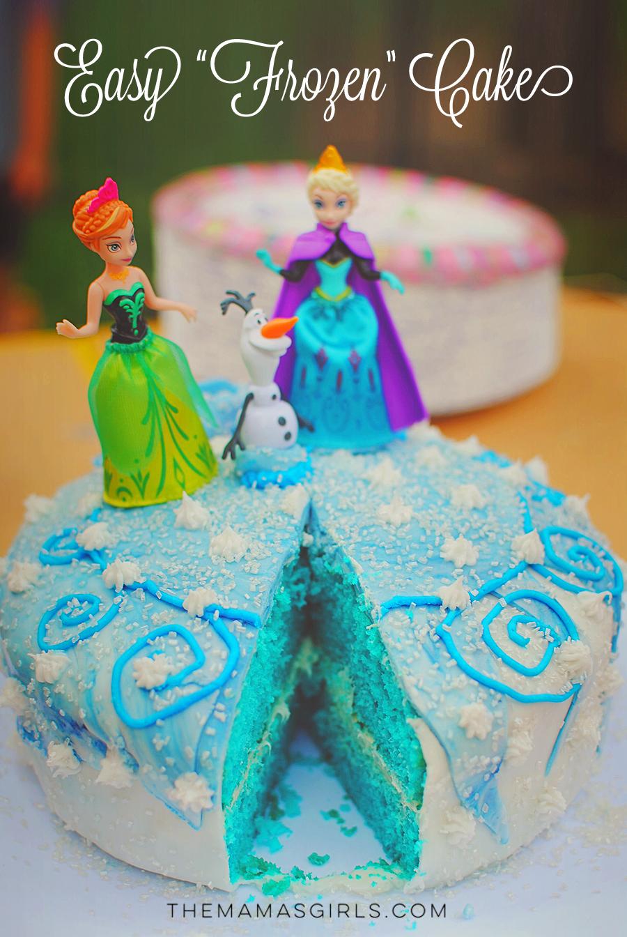 Easy Frozen Cake - Beginners Welcome!!!