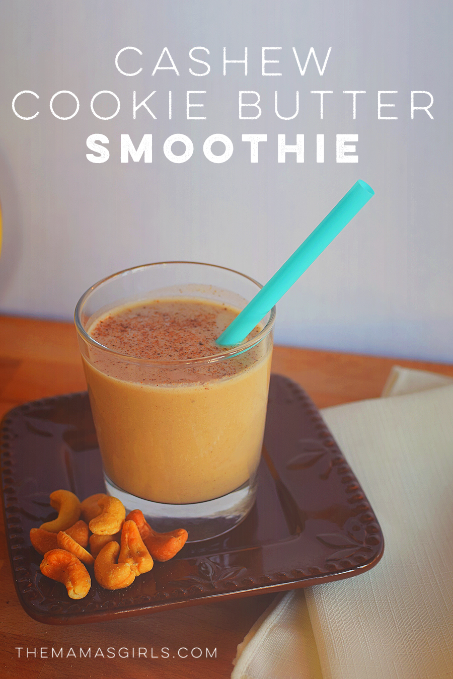 Cashew Cookie Butter Smoothie!