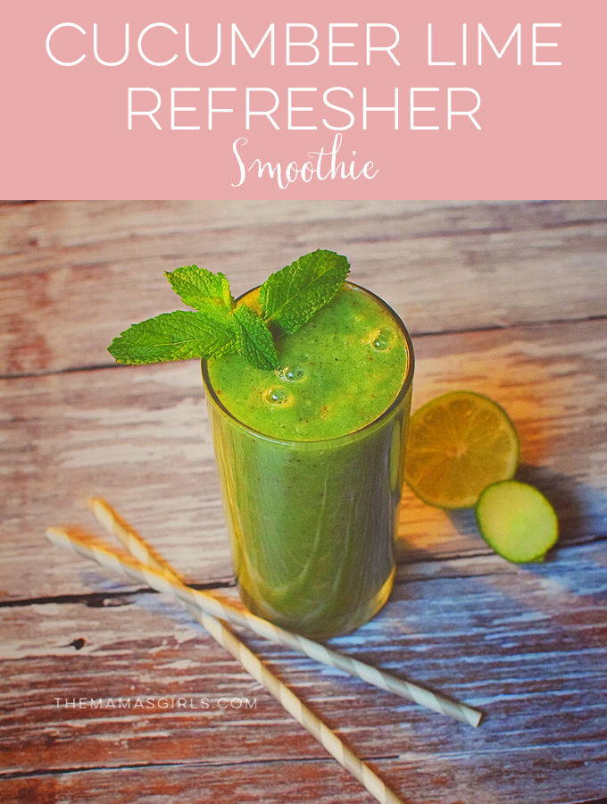 Cucumber Lime Refresher smoothie
