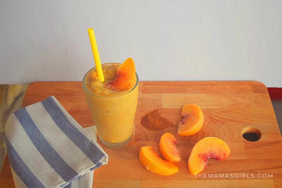 Dairy Free Smoothie - Peach Cobbler