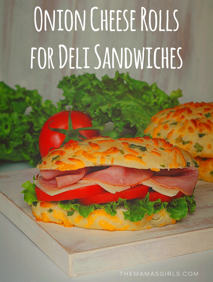 Onion-Cheese Sandwich Rolls