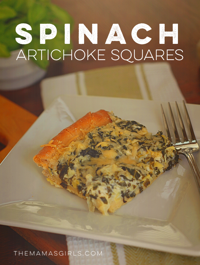 Rhodes Spinach Artichoke Squares-