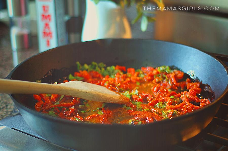 Taste #5 Umami Bomb Tomato Fettucine with Sun-Dried Tomatoes & Pine Nuts 3