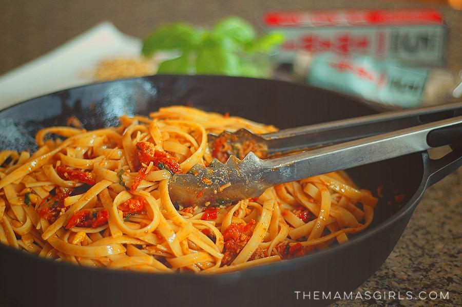 Taste #5 Umami Bomb Tomato Fettucine with Sun-Dried Tomatoes & Pine Nuts 4