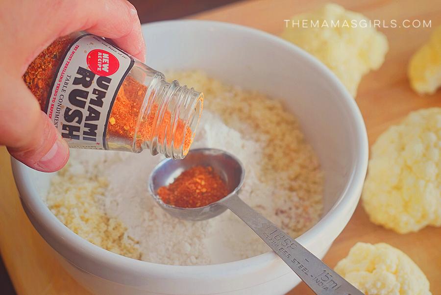 Taste #5 Umami Popcorn Cauliflower 4