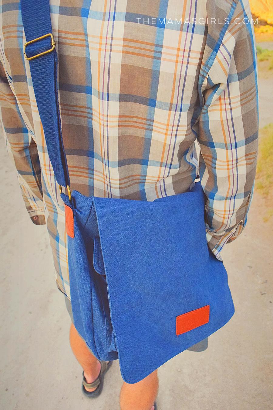 scortch messenger bag