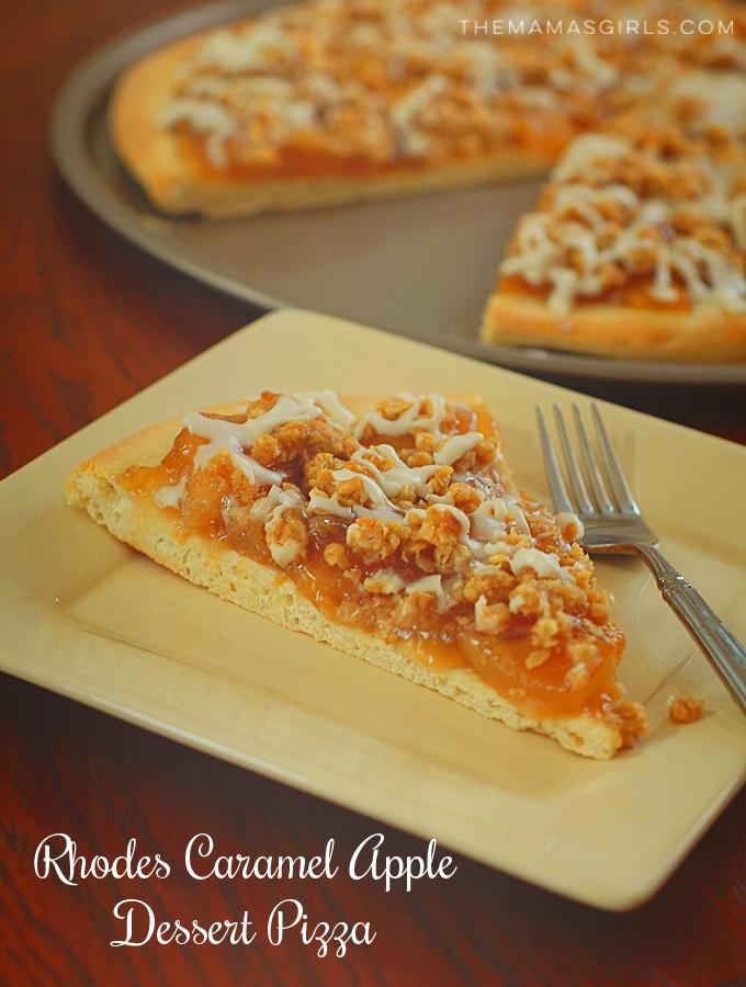 Rhodes Caramel Apple Dessert Pizza