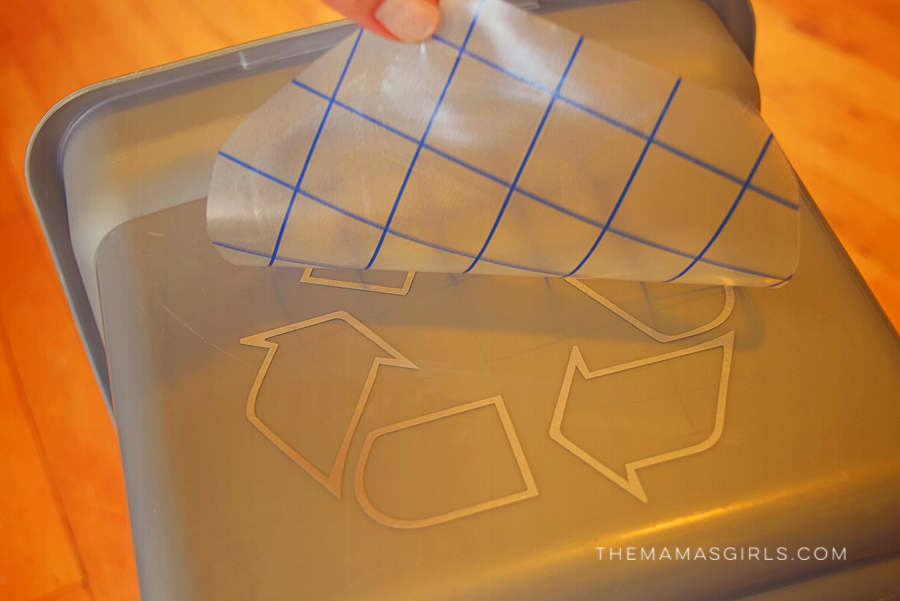 DIY Recycle bin with FREE Craft Cutter File 1