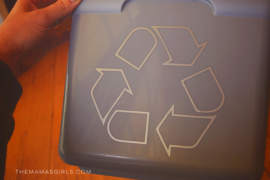 Make Your Own Recycle Bin with FREE Craft Cutter File 3
