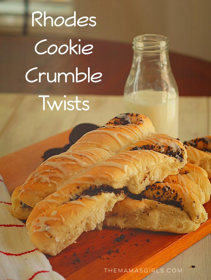 Rhodes Cookie Crumble Twists