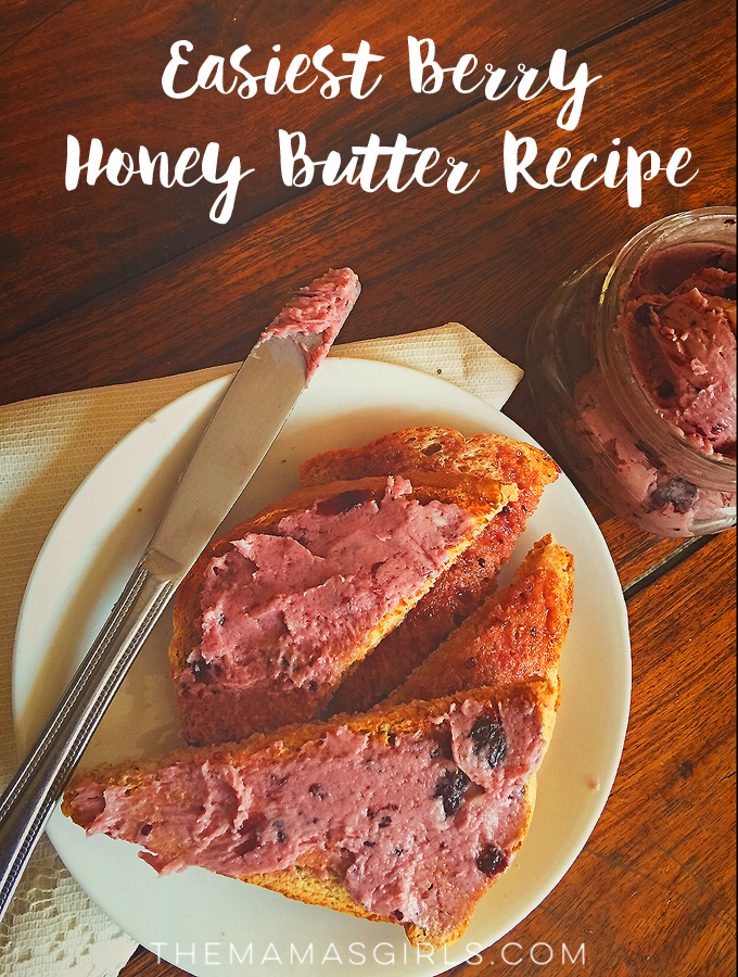 Easiest Berry Honeybutter Recipe